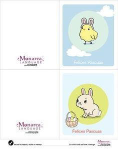 Monarca Language has created a set of materials for the holiday theme La Pascua (Easter holiday).This bundle is 23 pages and the download includes:(6) Six worksheets to practice visual discrimination skills. (1) A set of six vocabulary cards. Print twice to play memory.(1) A set of four reading cards. (1) A seven page mini-book to read and color.