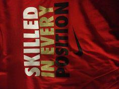Nike. That's how I roll.
