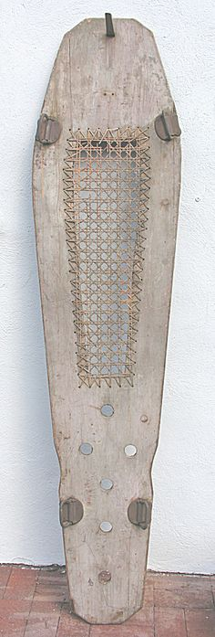 Victorian Funeral Cooling Embalming Board.