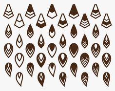 Diy Leather Earrings, Wood Earrings, Diy Jewelry, Jewelery, Jewelry Making, Shrink Plastic Jewelry, Cricut Fonts, Cnc Projects, Stencil Diy