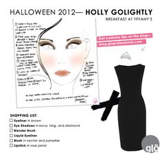 Find all of the tips on how to create the perfect Holly Golightly costume on our blog!