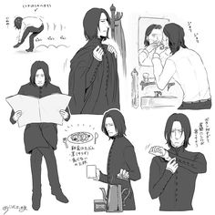 Severus Snape everyday routine