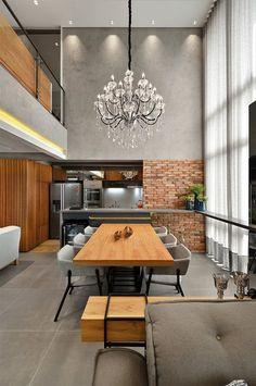 Este lindo loft tem apenas 100 metros quadrados é o resultado do excelente trabalho da arquiteta Ana Colnaghi, do Studio Colnaghi Arquitetura. Com um ar in