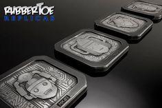 Rubbertoe Evolution of the Cyberman Coasters