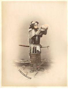 Japan, Samurai in Armour     #Asie_Asia #Japon_Japan