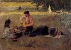 Isaac Israëls (1865-1934) - Bois de Boulogne