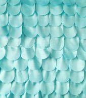 All That Glitters Fabric- Scalloped Taffeta Glitter Clearwater