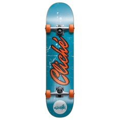 Cliche Old Logo Complete Skateboard - 7.7 Inch Deck Width: 7.7 inches
