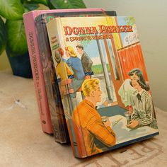 Donna Parker Book Set now featured on Fab.-Gee,these look Swell!