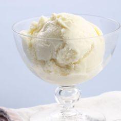 Easy Dessert Recipes: Vanilla Ice Cream Recipe
