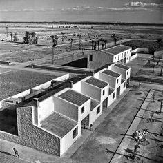 Pueblo de Colonización, El Realengo, Valencia, 1957 | José Luis Fernández del Amo