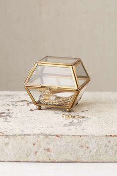 Magical Thinking Faceted Glass Vanity Box - Urban Outfitters $14