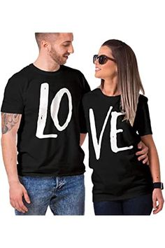 Best Friend Shirts, Dad To Be Shirts, Family Shirts, T Shirts For Women, Love Shirt, Shirt Style, Couple Tees, Valentine T Shirts, Couple Outfits