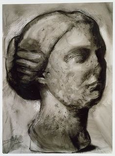 The Morgan Library & Museum Online Exhibitions - Jim Dine: The Glyptotek Drawings Online Exhibition - Glyptotek Drawing 6 Jim Dine, Art Postal, Boston Museums, Morgan Library, Drawing Projects, New York Art, Modern Artists, Gods And Goddesses, Art World