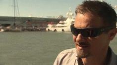 rennersrebel:  Jeremy Renner at America's Cup 2013