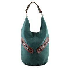KOFI - duża torba - worek - Ciemnozielona w INCAT  na DaWanda.com