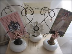 Door Knob Crafts Ideas | more door knob note holders, just love them | Craft Ideas