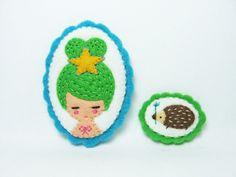 Animal Fairy pins