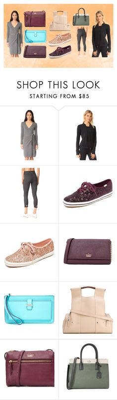 """""""Style Icons"""" by justinallison ❤ liked on Polyvore featuring Diane Von Furstenberg, Beyond Yoga, Keds, Kate Spade and Corto Moltedo"""