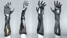 ArtStation - Open Bionics x Deus Ex second prosthesis , Laura Gallagher
