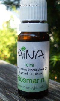 #Aromatherapie  Brigitte Brettenthaler Dipl HMI #Rosmarinöl 10 ml 4,90 statt 5.20  Tagesangebot 18.08.15