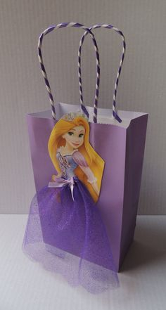 10 Pieces Disney Princess Rapunzel Birthday by rizastouchofflair
