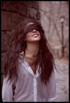 This looks exactly like my hair when I blow it dry upside down :)