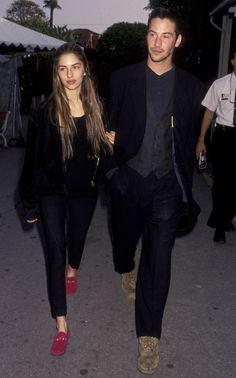 Sofia Coppola & Keanu Reeves | 21 couples de célébrités qu'on n'oubliera jamais