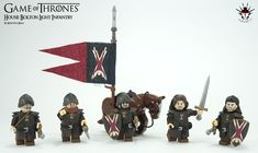 Game of Thrones - House Bolton Light Infantry by Barthezz Brick