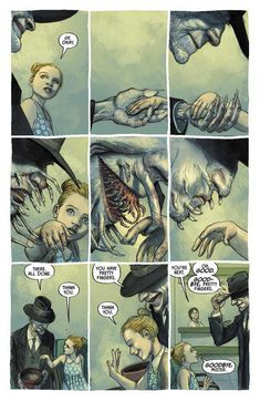 Tagged with comics, creepy, horror, comicbooks, imagecomics; Colder: The Bad Seed Comics Story, Bd Comics, Funny Comics, Arte Horror, Horror Art, Creepy Art, Scary, Dibujos Dark, The Bad Seed