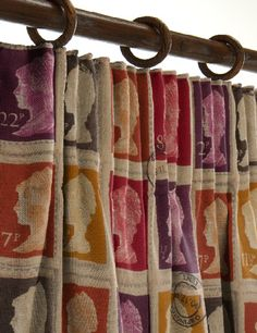Stamp curtains