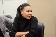 """Naya Rivera is all politics as she fights for arts in school. """"You know now that I'm gonna be a mom, I'm like, I don't wanna live in a world where my kid can't have art in his or her school."""" - Naya  VIDEO: http://naya-rivera.com/post/117602975491/naya-being-interviewed-at-the-creative-coalition"""