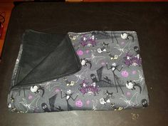 Nightmare Before Christmas Lightweight Cotton and Fleece