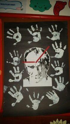Zamanın degistiremeyecegi tek şey Atatürk sevgimiz 10 Kasım calismalari: