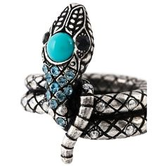 Lanvin snake ring ($215) ❤ liked on Polyvore featuring jewelry, rings, coiled snake ring, lanvin, snake jewelry, snake ring and lanvin ring