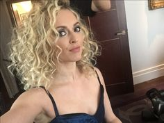 Spotted blonde en route to tonight's via Big Curly Hair, Fearne Cotton, Big Curls, Cotton Style, Curled Hairstyles, Gorgeous Hair, Makeup Inspiration, Hair And Nails, Hair Beauty