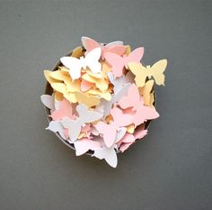 Absolute Tenderness Butterflies Confetti  Hand by decoraland, €8.99