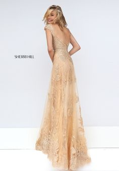 Sherri HIll #50176. gold and gossamer