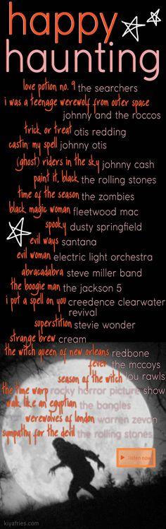 Holiday Music: 5 Unique Halloween Playlists - kiyafries