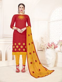 f4b0dfee6f Red straight salwar kameez Price INR Shipping extra Shipping days- days Buy  online Whtasapp or call@