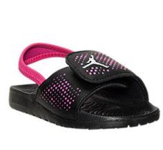 best sneakers be0b5 94b73 LITTLE GIRLS JORDAN HYDRO 5 SANDALS TODDLER SIZE 10 C NIB Nike Sandals, Nike  Sneakers
