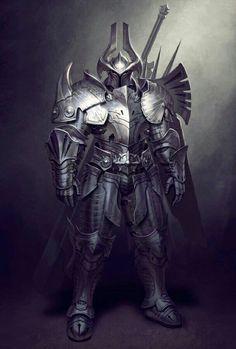 Fighter Armor Knight - Pathfinder PFRPG DND D&D d20 fantasy