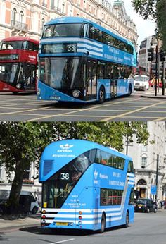 Adidas Originals - London buses