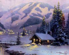 :D❤️ Thomas Kinkade Christmas
