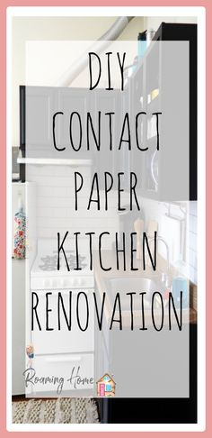 Contact Paper Kitchen Update Follow-Up. See how my 100% removable kitchen renovation is holding up months after completion! Spoiler: It's doing great!