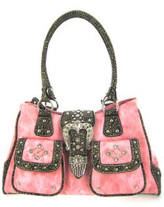 Pink  brown western style purse   CLICK THIS PIN if you want to learn how you can EARN MONEY while surfing on Pinterest