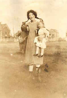 Old scary pictures of Halloween