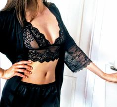 A three-quarter length, designed with a flattering cut and fit that complements all body types. It pairs wonderfully with the Short Chemise. Body Types, Pairs, Shorts, Fit, Ideas, Tops, Women, Fashion, Dress Shirt