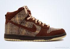 "#Nike SB Dunk High ""Tweed"" (2004)#oldschool"