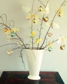 Fun Spring Floral Bouquet with Cherry Blossom branches